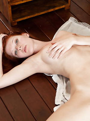 SexArt  Mia Sollis  Red Heads, Blue eyes, Cute, Erotic, Softcore, Fingering, Model